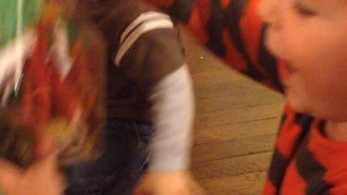 Excited Toddlers Open Their Christmas Presents - Video