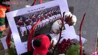 United fans take part in Munich air disaster memorial - Video
