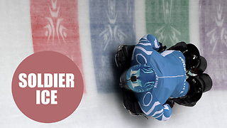 The first double amputee to take on the skeleton - Video