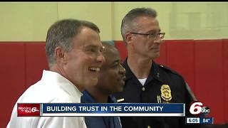 IMPD, Hogsett aim to build trust in the community - Video