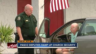 Deputies patrol churches - Video