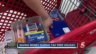 Find Out How To Save Money During Tax Free Holiday - Video