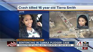 Tamika Pledger to be sentenced for manslaughter in fatal crash - Video