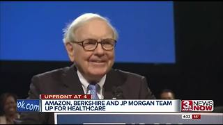 Berkshire Hathaway, JP Morgan Chase, Amazon team up for healthcare - Video