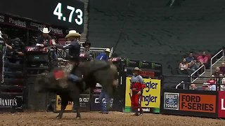 Mason Lowe, professional bull rider, dies in Denver competition