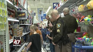 Local kids to 'Shop with a Hero' today - Video