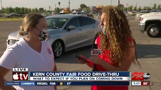 Kern County Fair Food Drive-thru