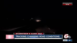 Travel Advisory issued in multiple central Indiana counties