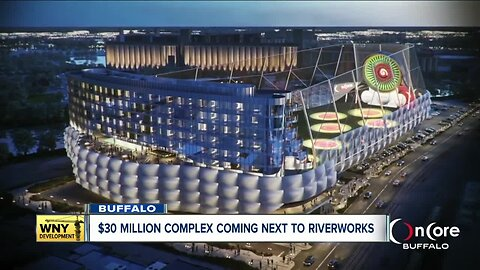 Plans for $30 million sports and entertainment complex near RiverWorks unveiled