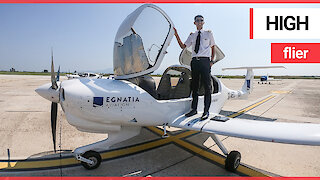 A British teenager has become the UK's youngest qualified commercial pilot