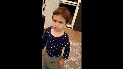Boy Has A Hilarious Reaction When Mom Tells Him She Ate All The Halloween Candies