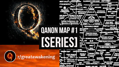 #QAnon Map Explained - Part 1 (Series)