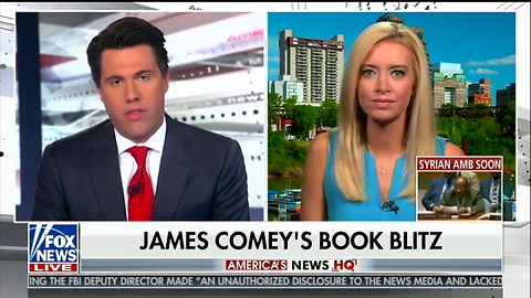 Fox Host Presses Rnc Spokeswoman On If Comey Insults Are 'Befitting' Of Trump