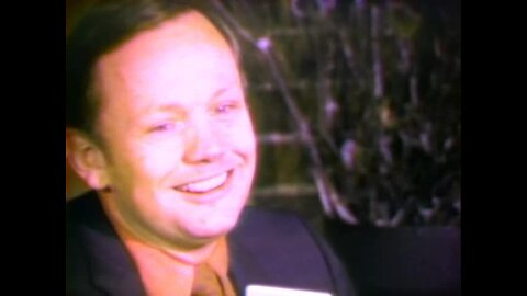 Neil Armstrong foresees future of space program in 1971 news conference at University of Cincinnati