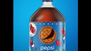 Pepsi's new limited edition apple pie flavored soda