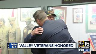 Ceremony held for Valley veterans - Video