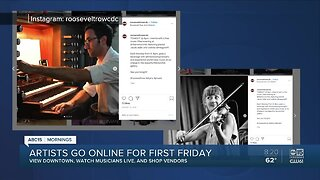 Local artists go online for First Friday 2
