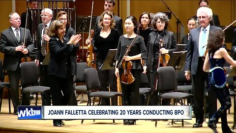 JoAnn Falletta celebrates 20th anniversary with the BPO