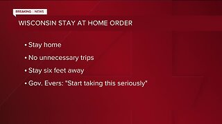 Gov. Tony Evers announces 'Safer at Home' order coming Tuesday