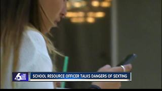 Meridian officer talks dangers of sexting - Video