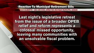 Lawmakers pass retirement bills after changes - Video