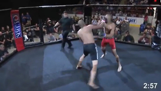 MMA Fighter Gets KO'd in 4 Seconds! - Video