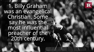 6 facts about evangelist Billy Graham | Rare News - Video