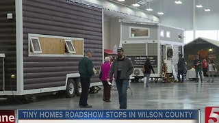 Hundreds Tour Tiny Homes Exhibit - Video