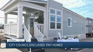 City council discussing adding tiny homes to help ease the housing crisis