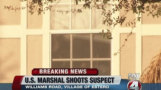 Officer-involved shooting in Estero - Video