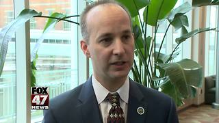 """Lansing's time is now"" Mayor Andy Schor takes office - Video"