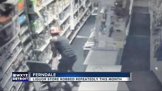 Thief targets Ferndale liquor store multiple times over the last month - Video