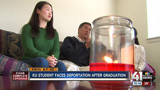 KU student faces deportation after graduation - Video
