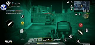 Using nightvision in dark mode for Call of Duty Mobile