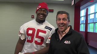 6 questions with Chiefs DE Chris Jones - Video