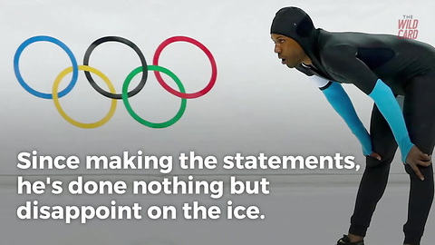 U.S. Olympian Who Cried Racism Over Flag Bearing Isn't Performing Well