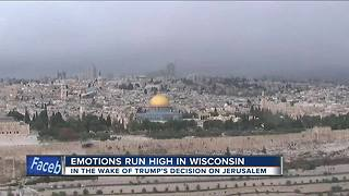 Trump's decision on Jerusalem has emotions running high in Wisconsin - Video
