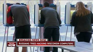 Wisconsin elections targeted by Russian hackers - Video
