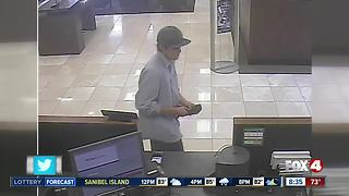 Deputies searching for suspect in Naples bank robbery - Video