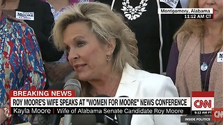 "Roy Moore's Wife Delivers Powerful Message To Media! ""He Will Not Step Down!"" - Video"