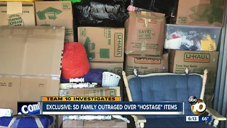 """SD family says a major moving company's been holding their belongings """"hostage"""" for months"""