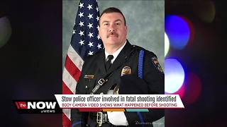 New body cam video of Stow officer-involved shooting - Video