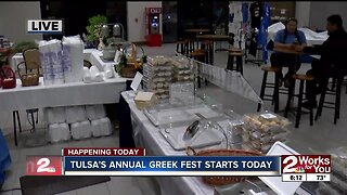Tulsa's annual Tulsa Greek Festival starts today