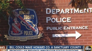 Howard County could become a sanctuary county - Video