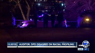 Denver auditor, police department disagree over whether officers working to end racial profiling - Video