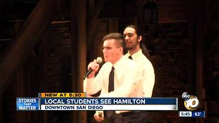 Students Experience Hamilton - Video