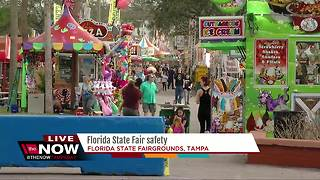 Florida State Fair safety - Video