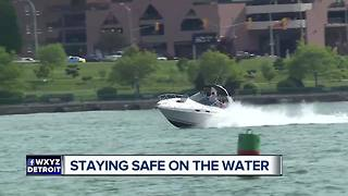 Staying safe on the water - Video