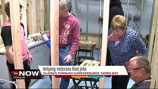 CareerSource helping veterans in the job market - Video