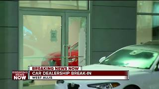 Luxury Car Dealerships Broken Into - Video